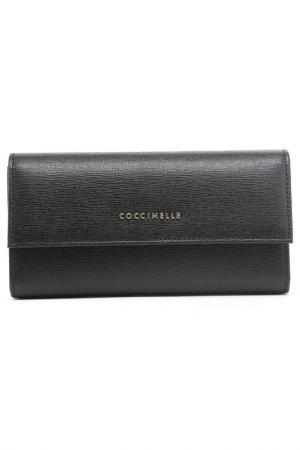 Кошелек Coccinelle. Цвет: черный
