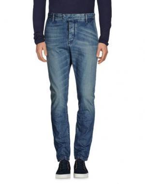 Джинсовые брюки HAIKURE. Цвет: синий
