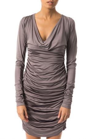 Платье Byblos. Цвет: gray