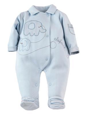 Комбинезон нательный для малыша Sofija. Цвет: голубой