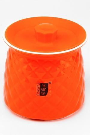 Банка, 13 см Patricia. Цвет: оранжевый