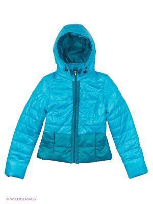Куртка Disvey. Цвет: бирюзовый