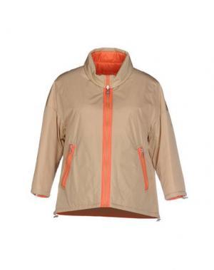 Куртка 313 TRE UNO. Цвет: бежевый