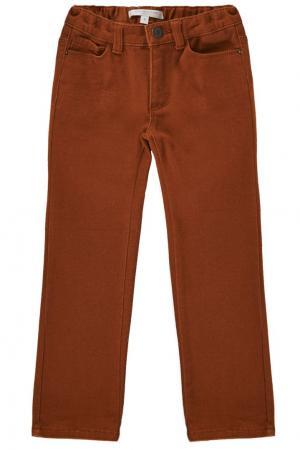Комбинированные брюки Caramel Baby&Child. Цвет: оранжевый