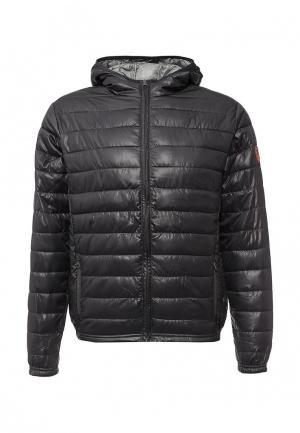 Куртка утепленная Biaggio. Цвет: черный