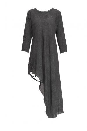 Платье изо льна 161046 Un-namable. Цвет: серый