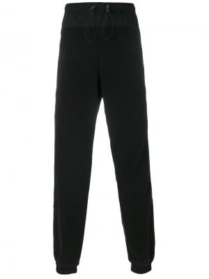 Drawstring track pants Cottweiler. Цвет: чёрный