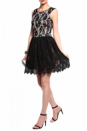 Платье Loyd Ford. Цвет: черный