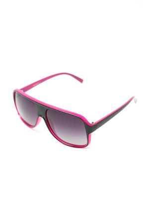 Очки солнцезащитные Mitya Veselkov. Цвет: розовый, черный