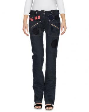 Джинсовые брюки PARASUCO CULT. Цвет: черный