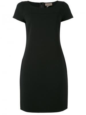 Приталенное платье Tony Cohen. Цвет: чёрный