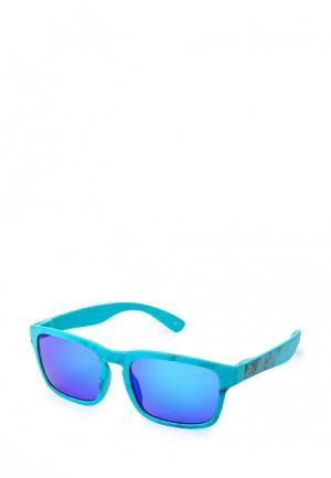Очки солнцезащитные Quiksilver. Цвет: голубой