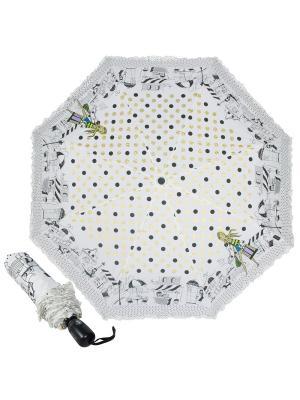 Зонт складной EMME M421A-OC Happiness Beige. Цвет: бежевый
