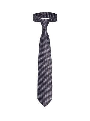 Классический галстук Прием в Берлине мелкий ромб Signature A.P.. Цвет: коричневый, белый, синий