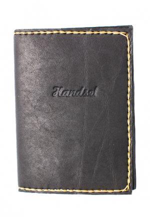 Обложка для документов Handsel. Цвет: черный