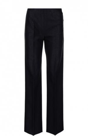 Прямые брюки со стрелками Alaia. Цвет: черный