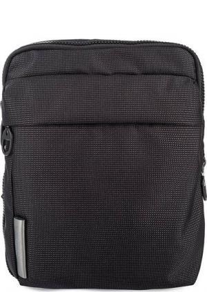 Маленькая текстильная сумка через плечо Mandarina Duck. Цвет: серый