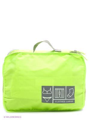 Органайзер для чемодана HOBBY LINE. Цвет: салатовый