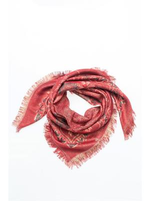 Платок FOMAS. Цвет: красный, золотистый