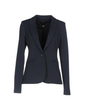 Пиджак ANNARITA N.. Цвет: темно-синий