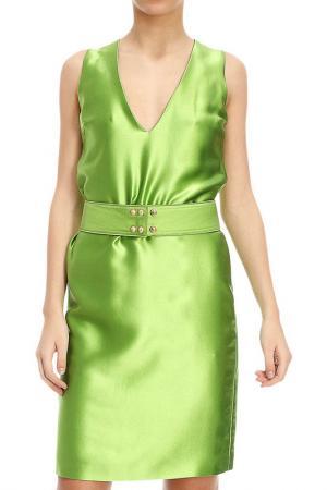 Платье Fausto Puglisi. Цвет: зеленый