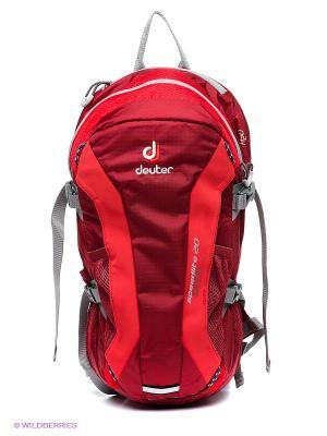 Рюкзак Deuter. Цвет: красный, темно-красный