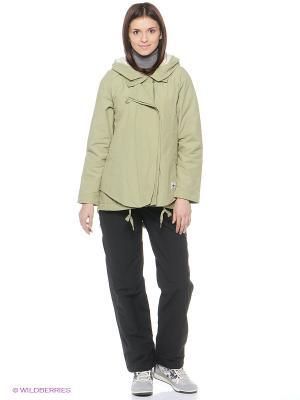 Куртка WINTER CTTN JKT Adidas. Цвет: зеленый