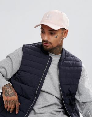 Adidas Originals Розовая кепка CV8143. Цвет: розовый