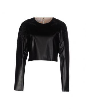 Блузка DANIELE CARLOTTA. Цвет: черный
