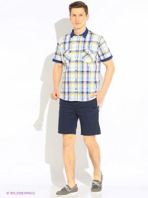Рубашка Hazard. Цвет: желтый