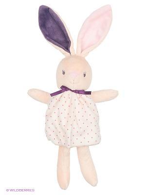 Заяц, коллекция Розочка Kaloo. Цвет: бежевый