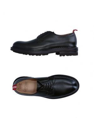 Обувь на шнурках GREEN GEORGE. Цвет: темно-зеленый