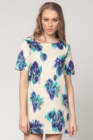 Платье EUFORIA. Цвет: бежевый