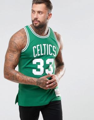 Mitchell & Ness Майка NBA Boston Celtics Swingman. Цвет: черный