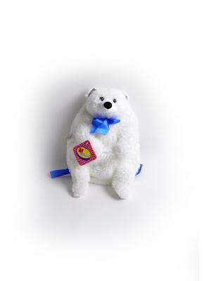 Мягкая игрушка Мишка Полярник 2.277.1-1 цвет белый Malvina. Цвет: белый