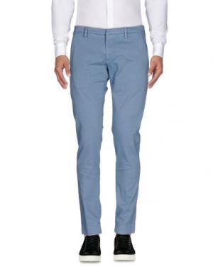 Повседневные брюки MICHAEL COAL. Цвет: небесно-голубой