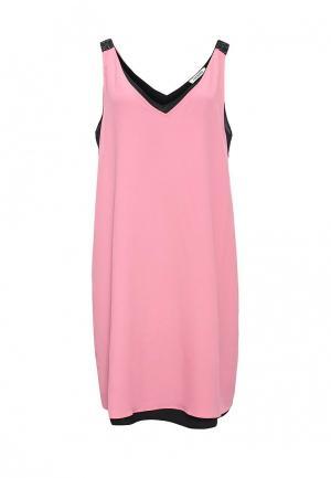 Платье Iceberg. Цвет: розовый