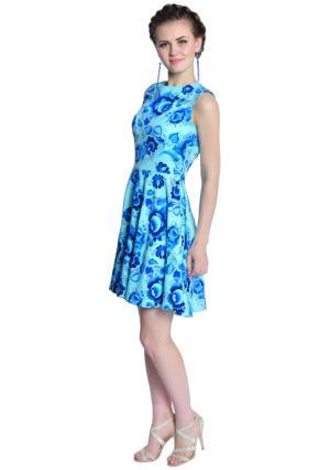 Платье Rise. Цвет: зеленый (мятный, темно-синий)