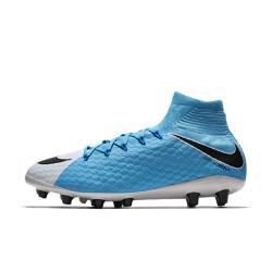 Футбольные бутсы для игры на искусственном газоне  Hypervenom Phatal 3 DF AG-PRO Nike. Цвет: белый