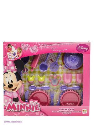 Кухня Minnie с аксессуарами IMC toys. Цвет: розовый, фиолетовый