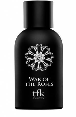 Парфюмерная вода War Of  Roses TFK The Fragrance Kitchen. Цвет: бесцветный