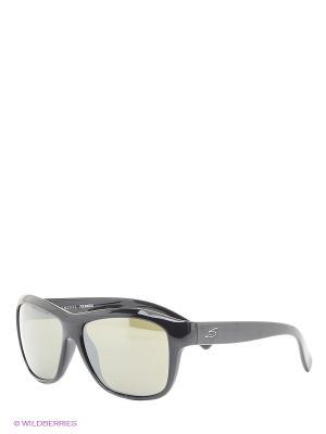 Солнцезащитные очки Serengeti. Цвет: черный