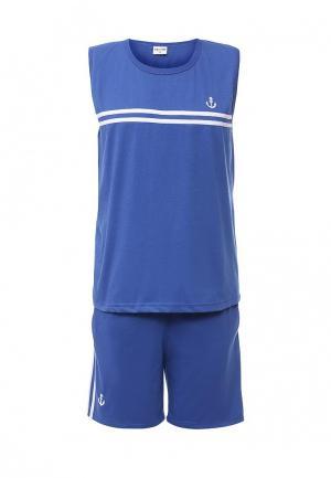 Костюм спортивный JDL Star. Цвет: синий