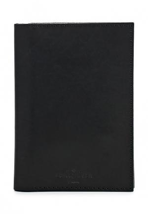 Обложка для документов Long River. Цвет: черный