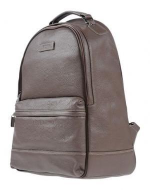 Рюкзаки и сумки на пояс GUIDI. Цвет: голубиный серый