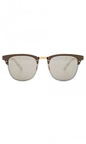 Солнцезащитные очки cordova ii illesteva. Цвет: коричневый