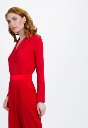 Боди Audrey Right. Цвет: красный