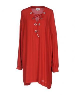 Короткое платье BELAIR. Цвет: красный