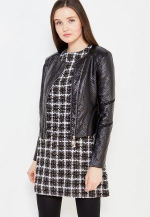 Куртка кожаная Lucy & Co.. Цвет: черный