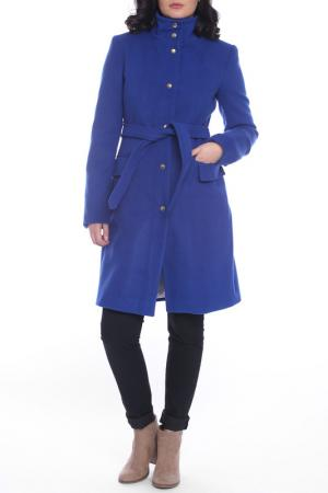 Пальто Emma Monti. Цвет: синий